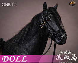 DL1917 1/12 Hanover Warm-blooded Horse E (DOLL)