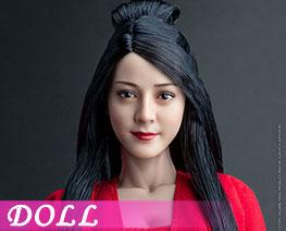 DL3514 1/6 亞洲美女頭雕 A (人偶)