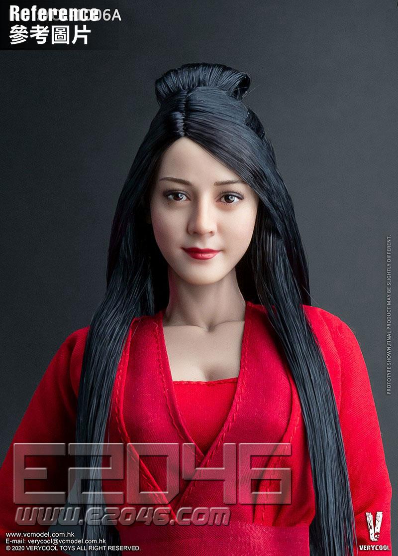 Asian Beauty Head A (DOLL)