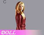 DL0840 1/6 Ladies leather suit C (Doll)