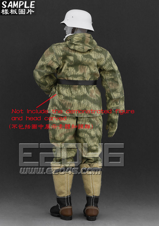 The Ss And The Wehrmacht Snow Double Sided Cotton Padded Jacket E (Doll)