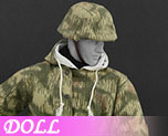 DL0565 1/6 The Ss And The Wehrmacht Snow Double Sided Cotton Padded Jacket E (Doll)