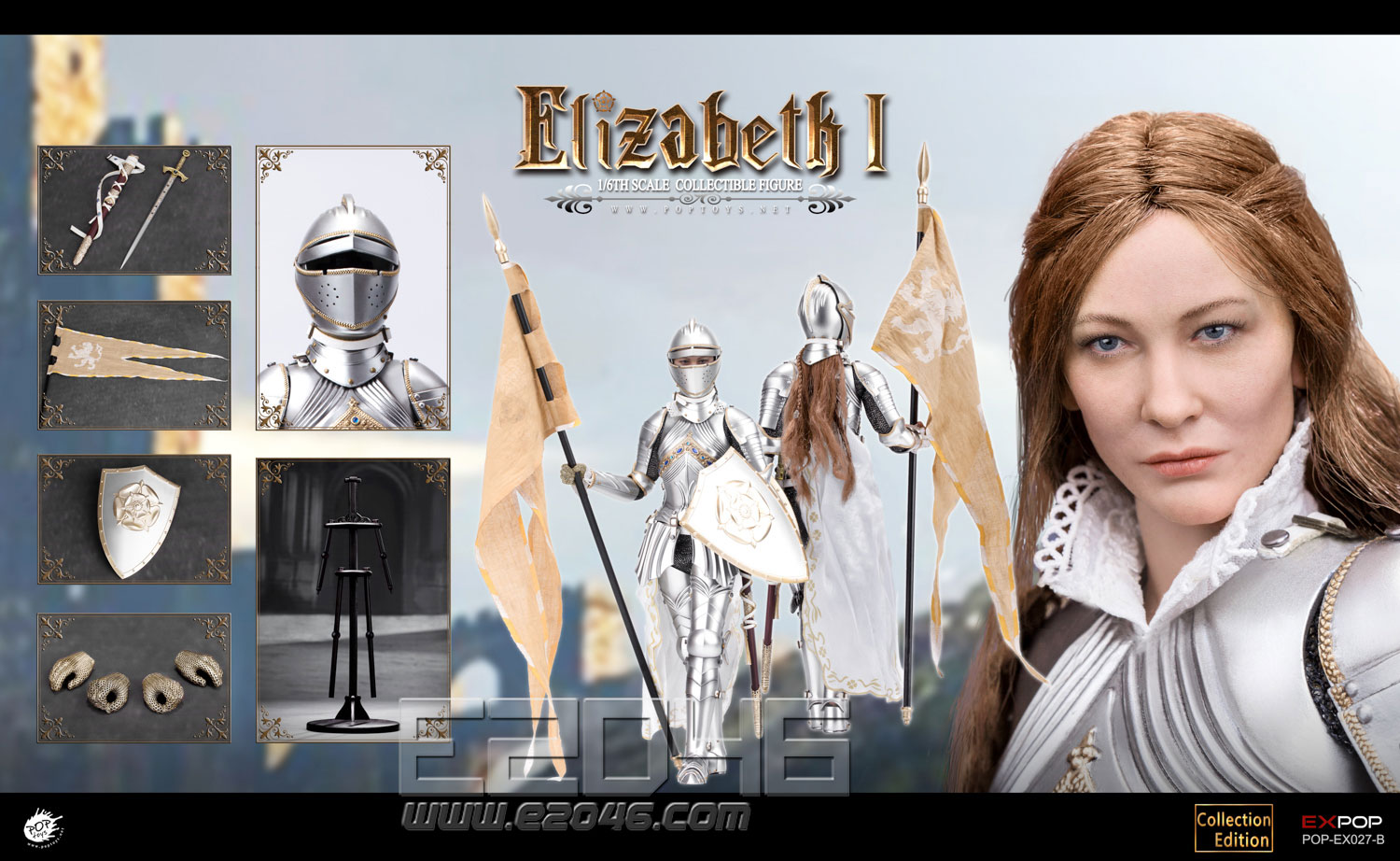 Queen Elizabeth Deluxe Version (DOLL)