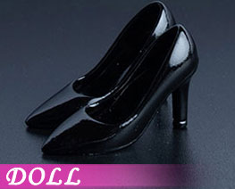 DL2227 1/12 Fashion High Heels Black (DOLL)