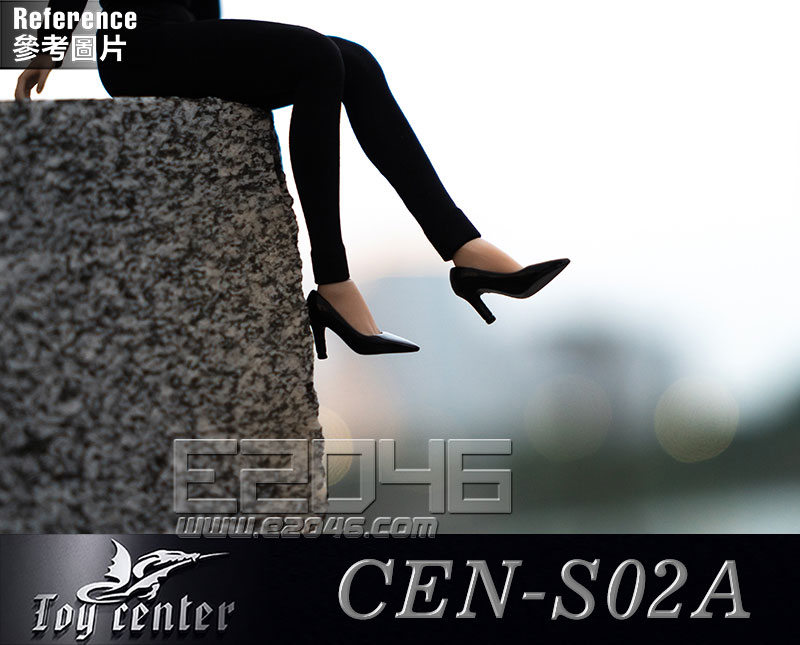 Fashion High Heels Black (DOLL)