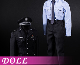 DL4384 1/6 Chinese Police Uniform Set (DOLL)