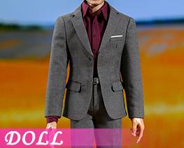 DL3979 1/6 Gentleman Narrow Shoulder Suit B (DOLL)