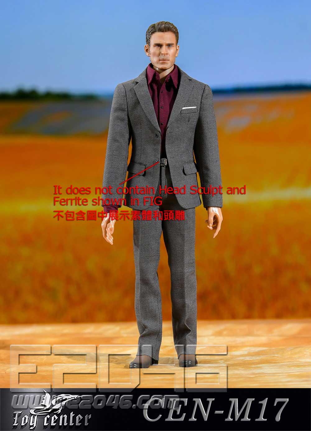 Gentleman Narrow Shoulder Suit B (DOLL)