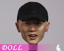 DL4593 1/6 Asian Male Head Sculpture (DOLL)