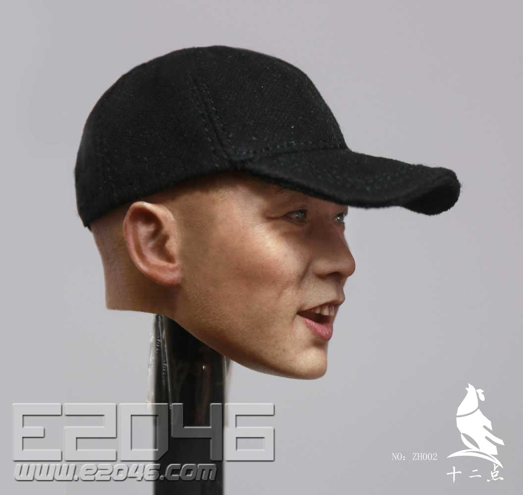 Asian Male Head Sculpture (DOLL)