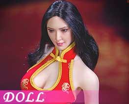 DL1481 1/6 超短旗袍服飾套裝 B (人偶)