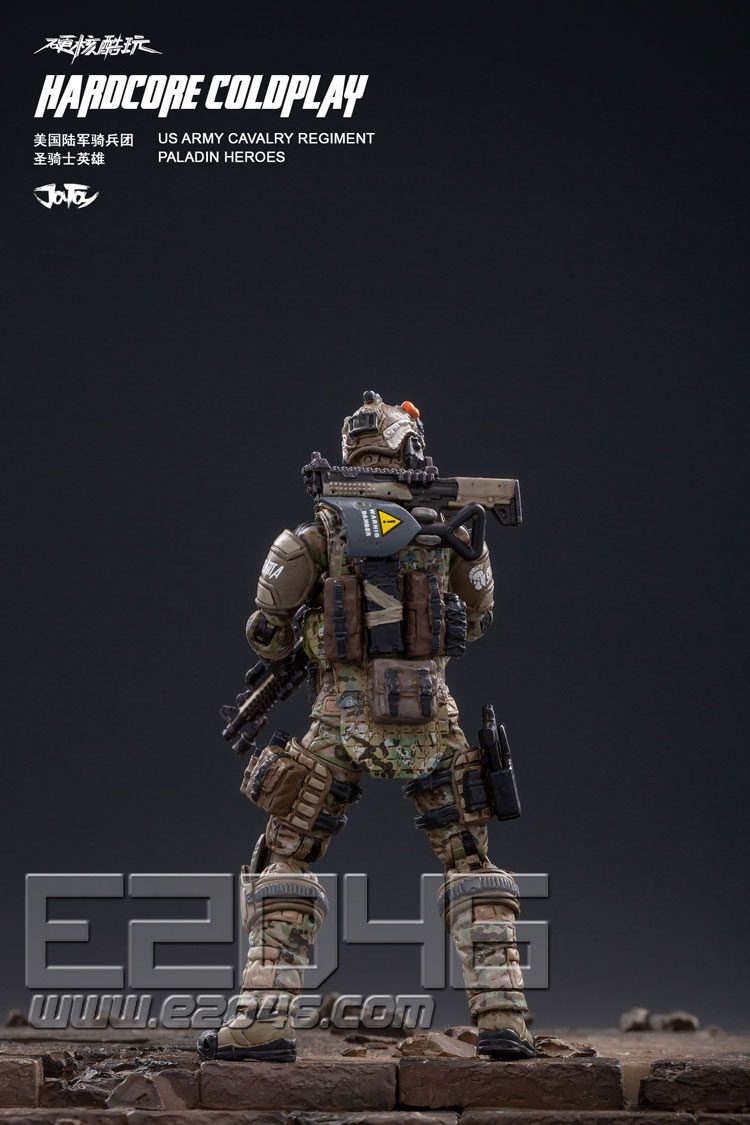U.S. Army Cavalry Paladin Hero (DOLL)