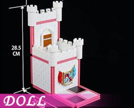 DL3469  Assembled Castle Scene E (DOLL)