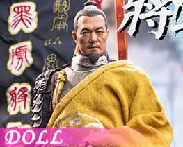 DL3786 1/6 黑虎将军刘綎C (人偶)