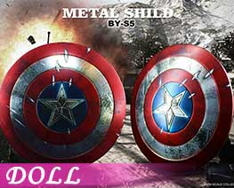 DL3222 1/6 Metal Shield C (DOLL)