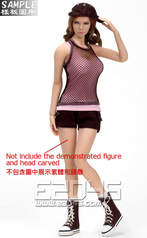 Women fashion Shorts Set C (Doll)