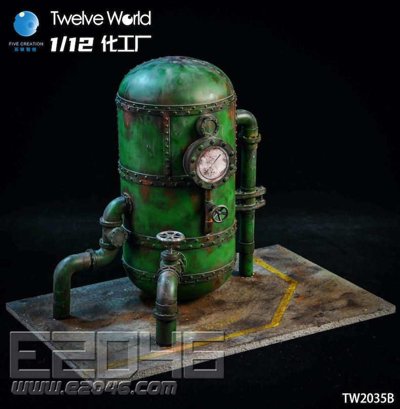 Chemical Plant Scene B (DOLL)