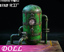 DL4170 1/12 Chemical Plant Scene B (DOLL)
