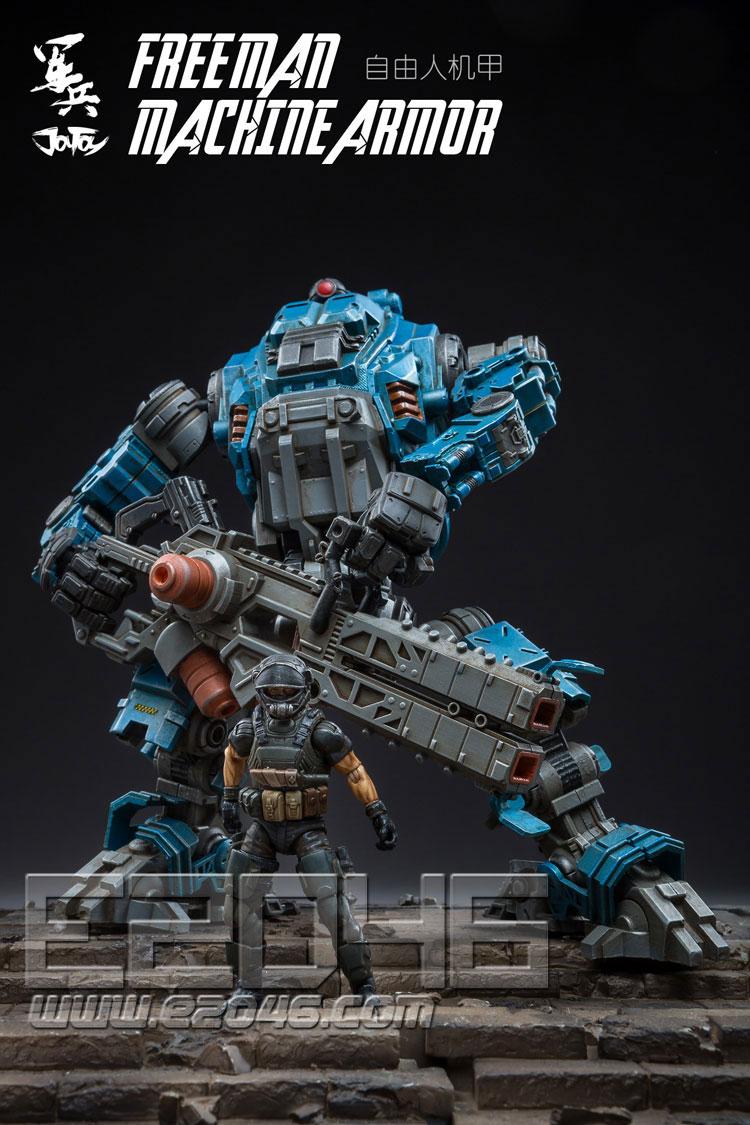 Free Man Tactical Mecha Blue (DOLL)