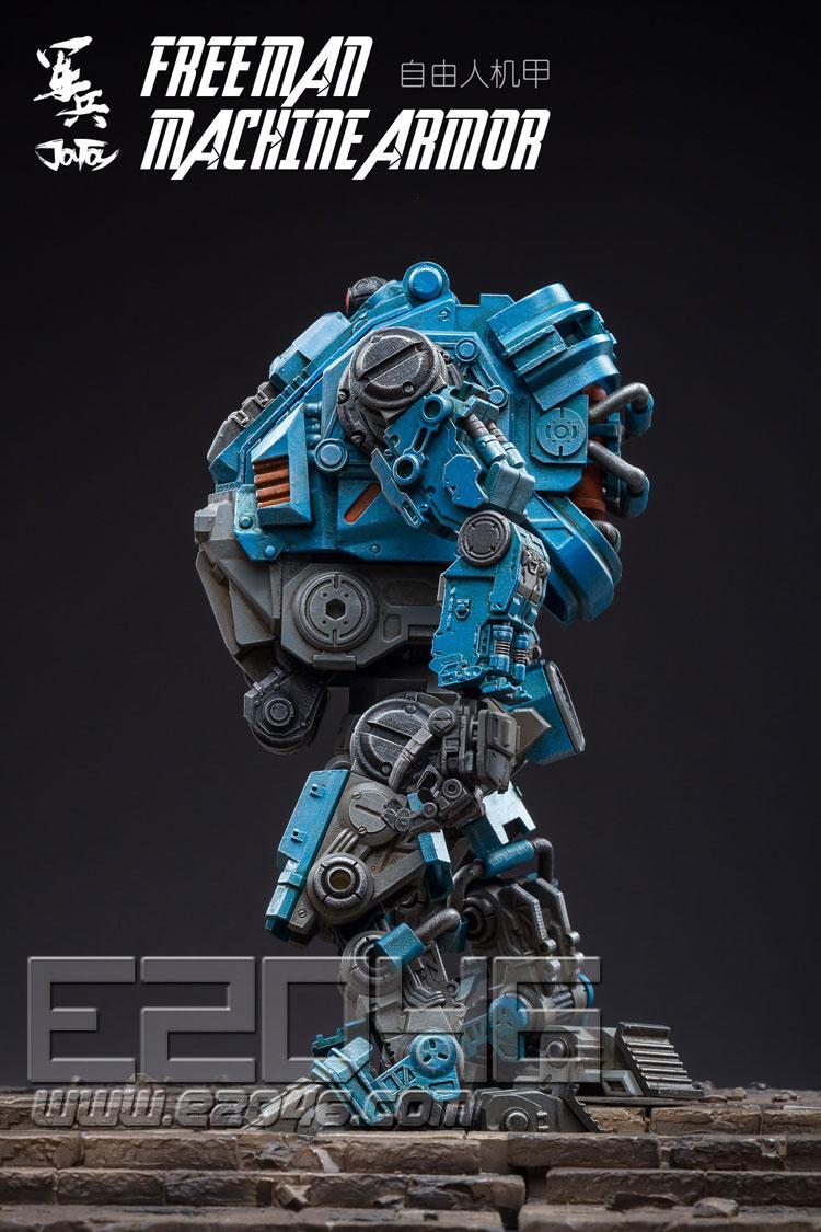自由人戰術機甲藍色款 (人偶)