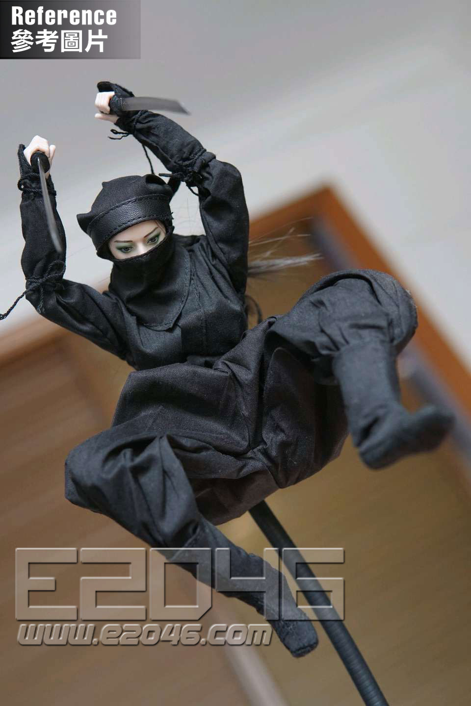 Female Ninja Suit B (DOLL)