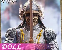 DL3784 1/6 黑虎將軍劉綎A (人偶)