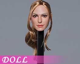 DL1660 1/6 Hollywood beauty star head D (DOLL)