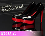 DL0579 1/6 Women's High Heel Shoes C (Doll)