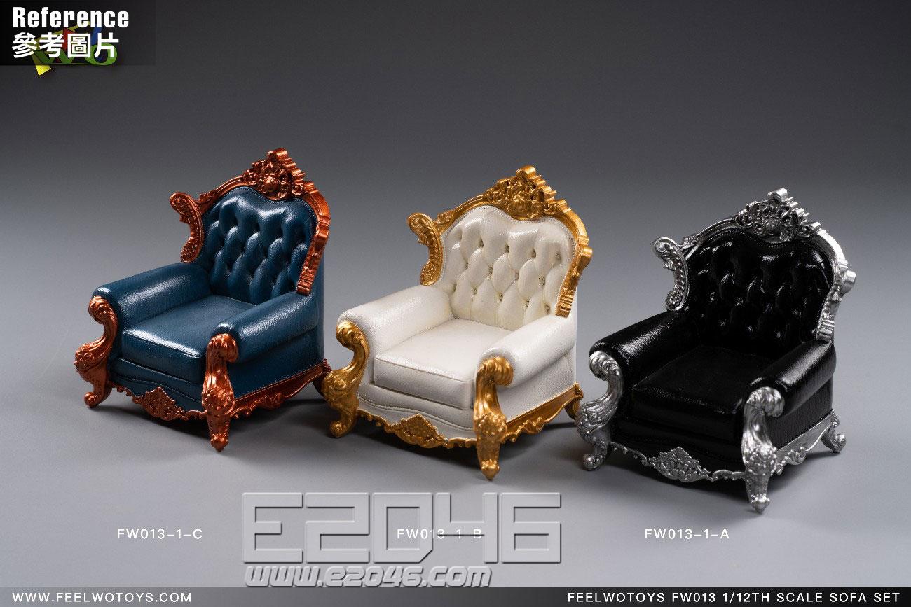 Sofa Single B (DOLL)