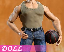 DL3977 1/6 Sports Vest Jeans Suit C (DOLL)