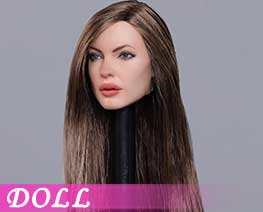 DL2556 1/6 European and American Beauty Head Sculpt C (DOLL)