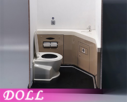 DL4940 1/6 Motor Car Toilet (DOLL)