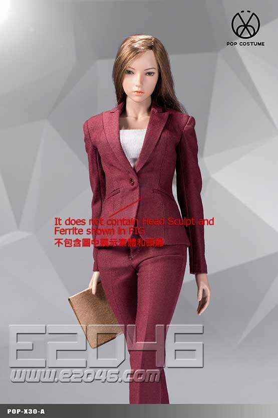 Female Suit Pants Version A (DOLL)