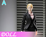 DL0704 1/6 Office girl set A (Doll)