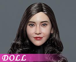 DL4989 1/6 Asian Beauty Head Sculpture A (DOLL)
