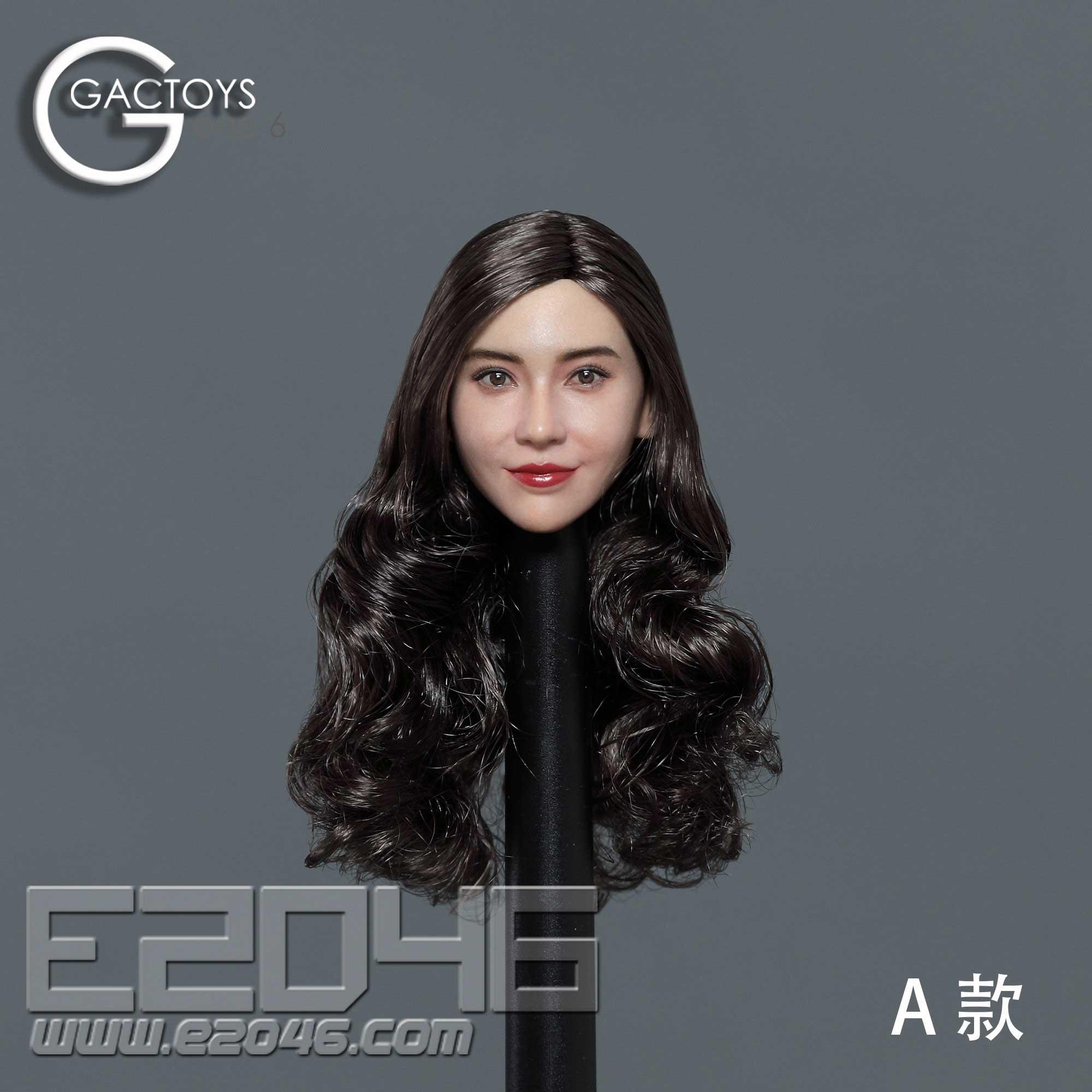 Asian Beauty Head Sculpture A (DOLL)