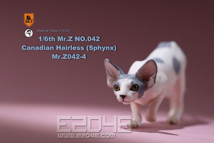 Canadian Hairless Cat D (DOLL)