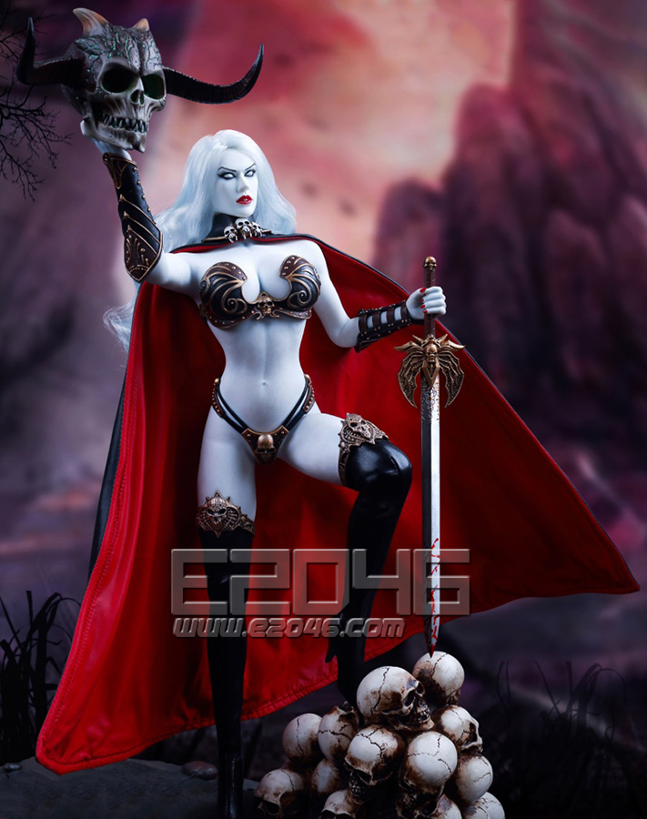 Death's Warrior V2 Action Figure only (Doll)