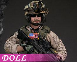 DL3094 1/6 Gunner (DOLL)