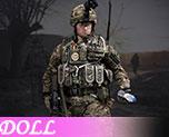 DL0676 1/6 British army in Afghanistan (Doll)