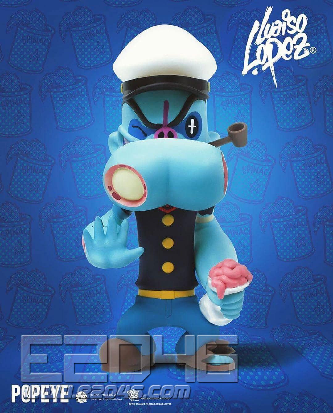 Zombie Popeye (DOLL)