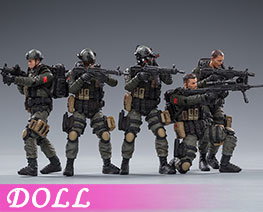 DL3027 1/18 Pla Army Counter Terrorism Unit (DOLL)