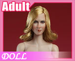 DL0497 1/6 Head sculpt and body suit (Doll)