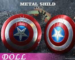 DL3223 1/6 Metal Shield D (DOLL)