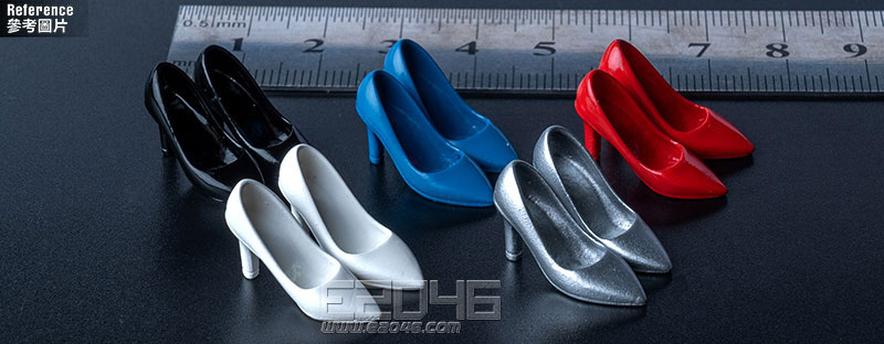 Fashion High Heels White (DOLL)
