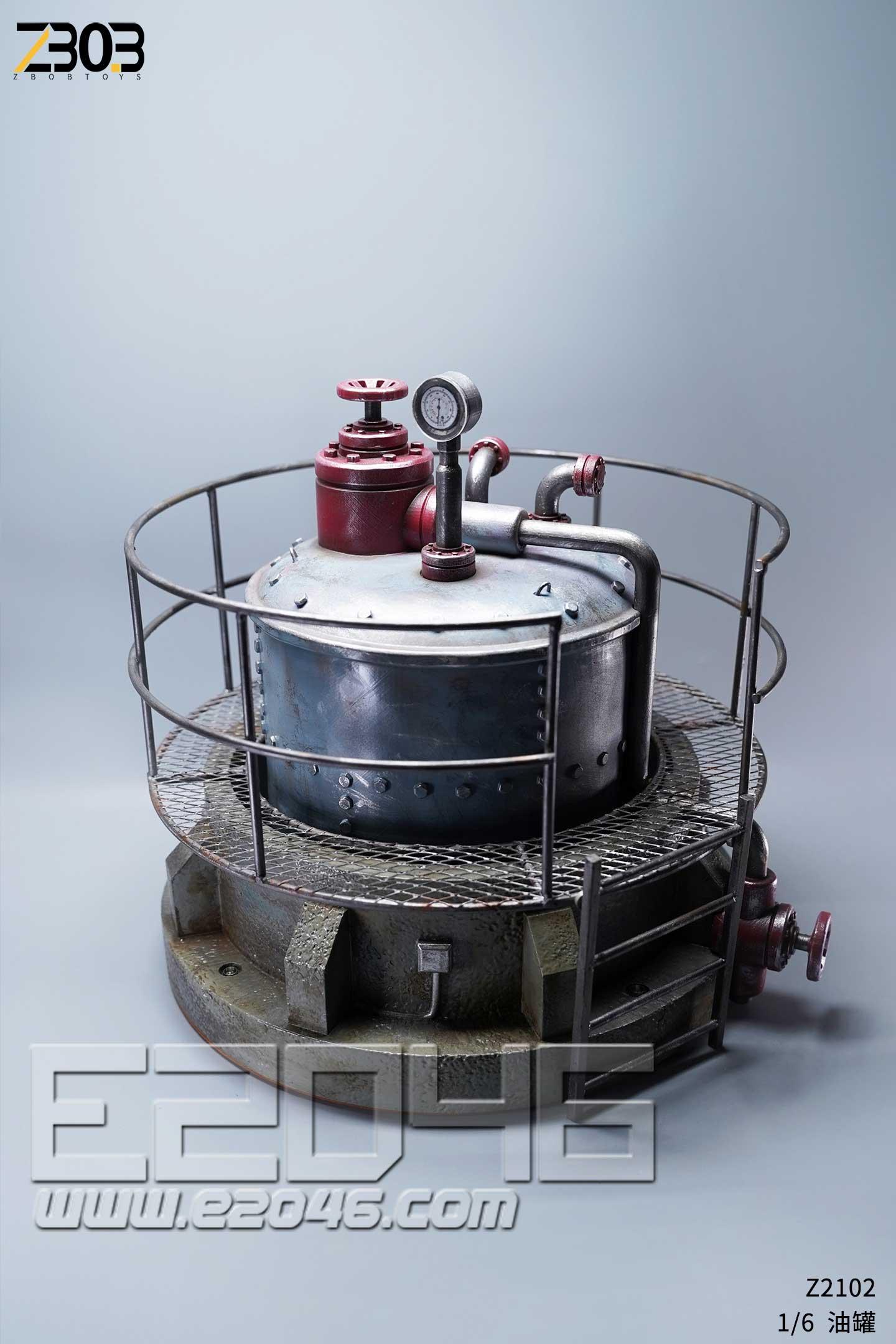 Factory Boiler Scene (DOLL)