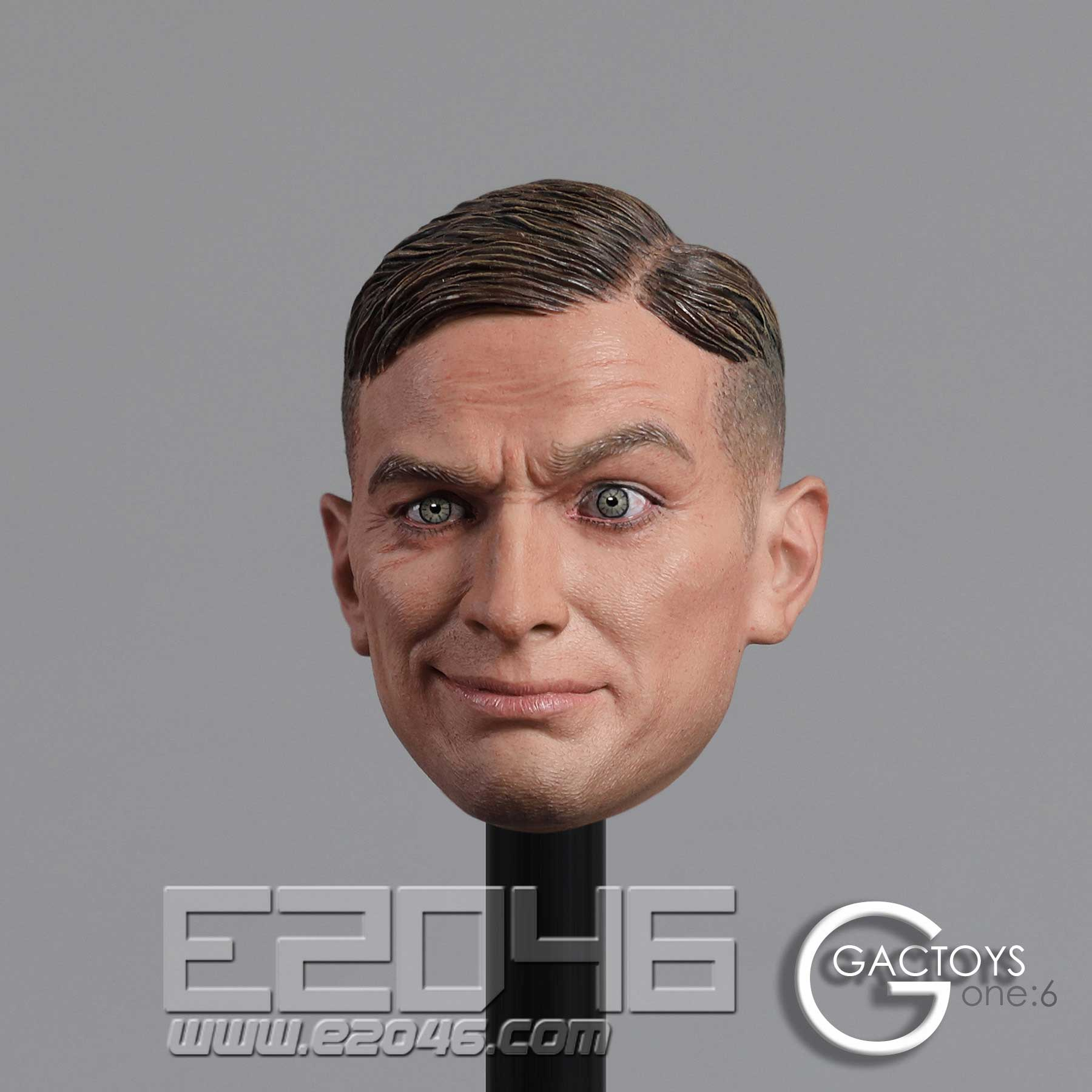 European And American Expression Male Head (DOLL)