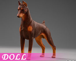DL2394 1/12 Doberman Pinscher B (DOLL)