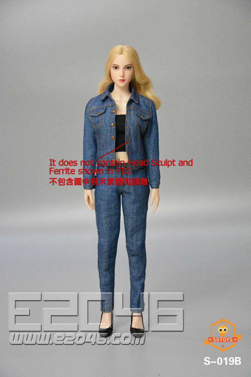 Ladies Denim Suit B (DOLL)