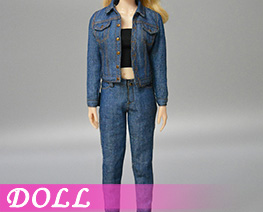 DL4126 1/6 Ladies Denim Suit B (DOLL)
